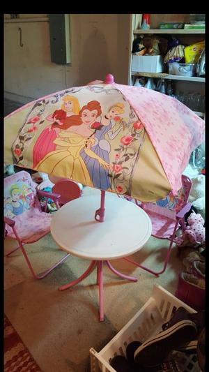 Disney Princess Patio Set For In Edmonds Wa