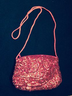 Red sequin purse Thumbnail