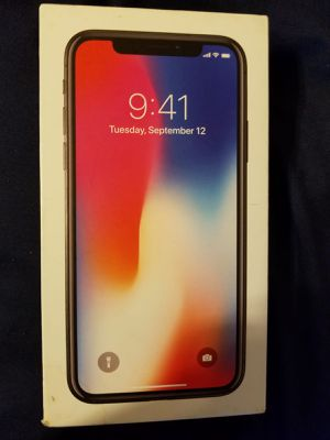 iPhone X 64gb for Sale in Hyattsville, MD