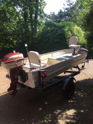 14 ft aluminum v-Hull Jon boat for Sale in Brentwood, TN - OfferUp