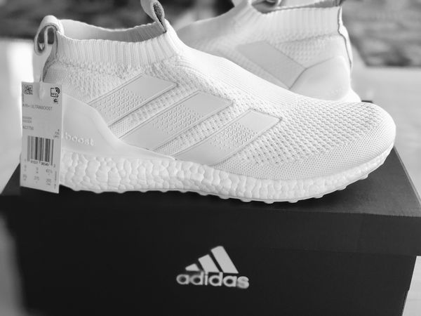 bb2c20cac3a18 Brand New) Adidas 16+ PureControl UltraBoost (Size 9.5) (Cloud White ...