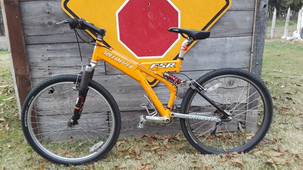 12a680e4d8d 1998 Specialized Ground Control FSR Comp MTN Bike for Sale in ...