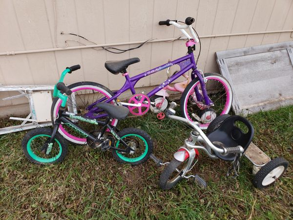 3ad5b723805 4 kids bike/trikes in varying conditions for Sale in Canyon, TX ...