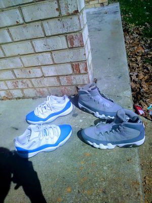 HMU JORDAN 9 AND 11S FOR SALE!! OBO CASH PREFERED BUT TRADE OPEN. NO DUMB OFFERS !! ONLY TODAY for Sale in Richmond, VA