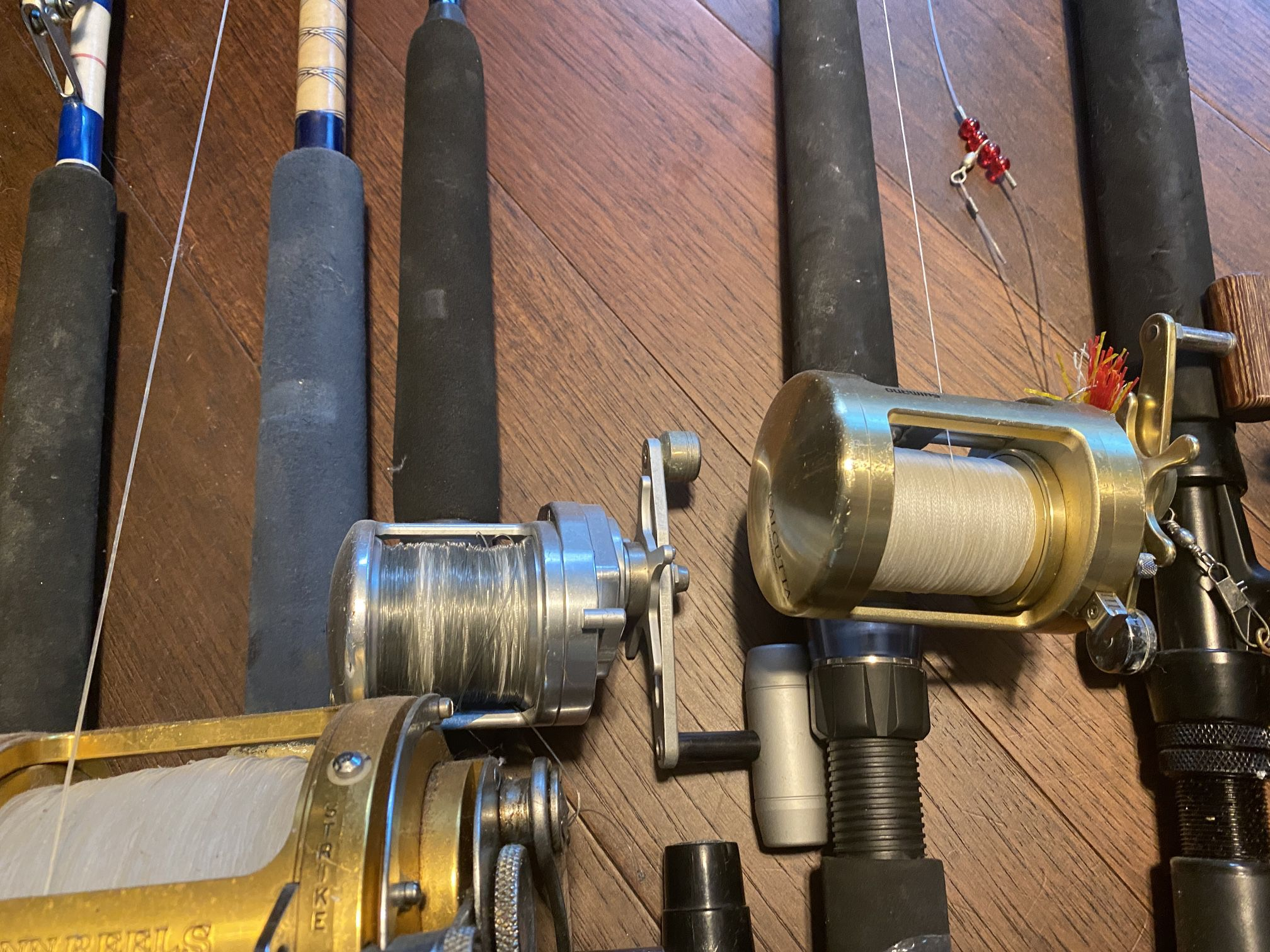 Rod And Reels Fishing Poles