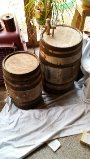 2 Antique Wine Barrels For Sale For Sale In Plainville Ct Offerup