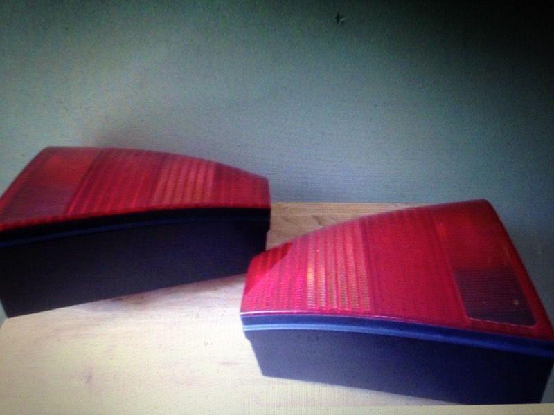 Volkswagon Bora Tailights Magic Color Pair 11/98 Hella