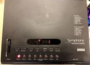 Korg Symphony Orchestra Module for Sale in Charlottesville, VA
