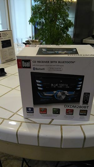 Brand new CD Receiver with Bluetooth for Sale in Bakersfield, CA