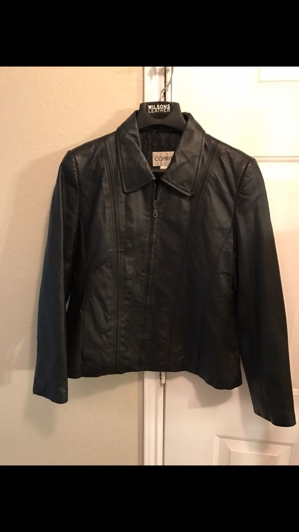 7e19aafed92 Very nice ladies leather coat for Sale in Rockwall