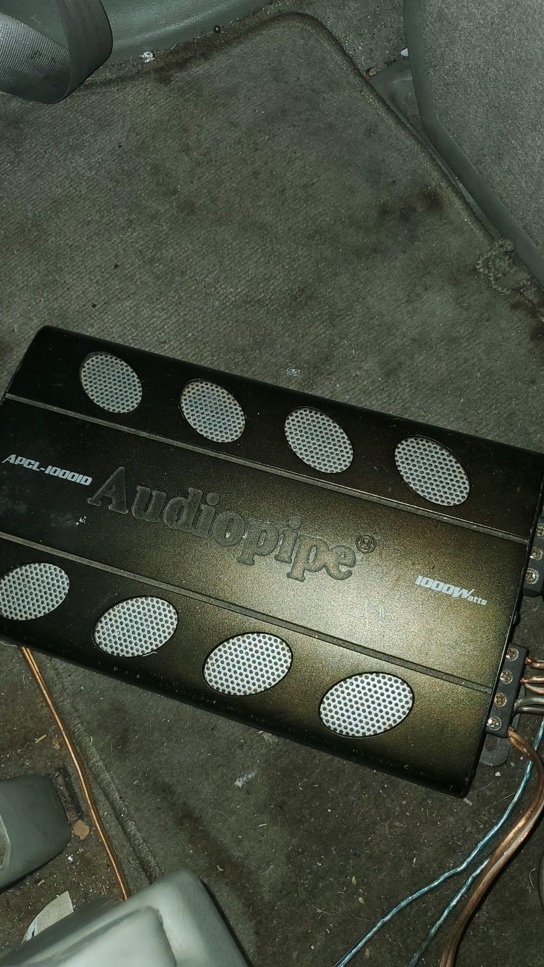 2 15s 1000 watt audio pipe amp