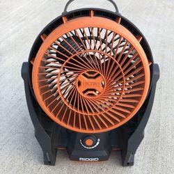 Ridgid 18 - Volt Hybrid Fan. Thumbnail