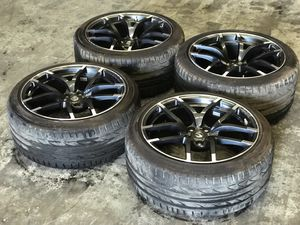 18' Nissan 370Z Nismo wheels/tires w tpms for Sale in Tampa, FL
