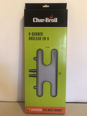 New Universal Fit H Type Dual Control Bar Burner Gas Grill BBQ Replacement Part for Sale in Jacksonville, FL