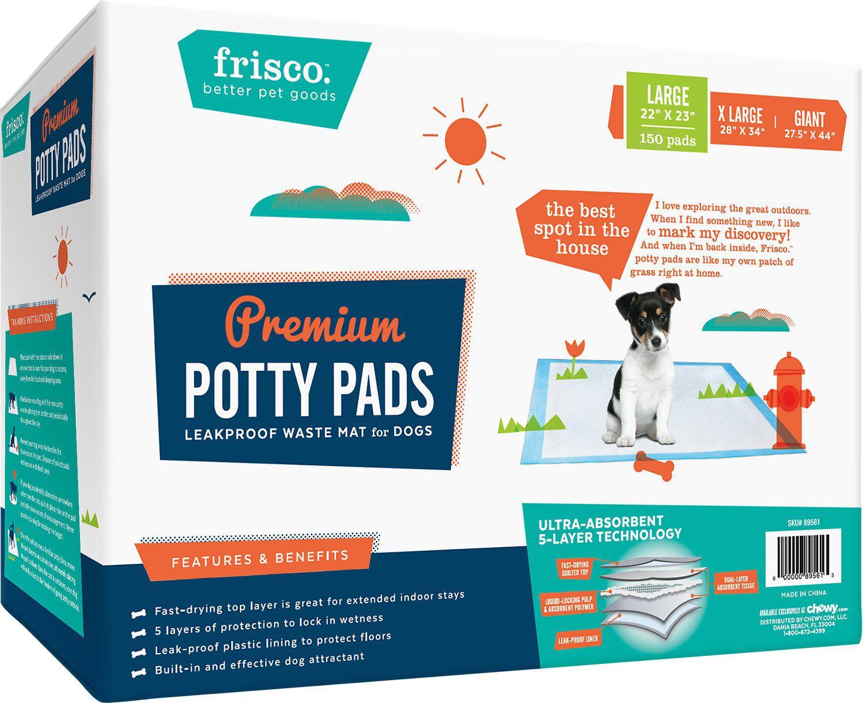 Frisco dog Training And Potty pad 22x23  150 Sheets