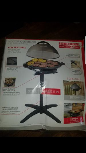 Indoor outdoor Foreman grill for Sale in Columbus, OH