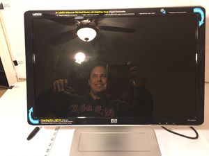 """Brand New! HP w2207h 22"""" Widescreen Flat-Panel Monitor with BrightView Panel Screen tilts 90 degrees in either direction giving you a massive vertica for Sale in Greenville, SC"""