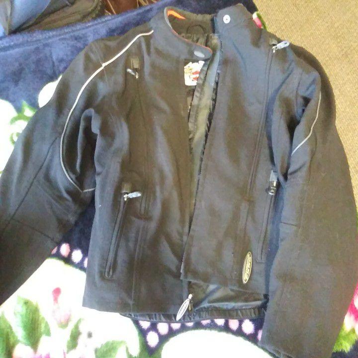Photo Harley Davidson Womens FXRG Biker Jacket And Pants