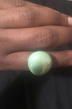 Cracked moon statement rings Thumbnail