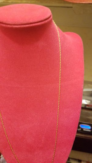 14K GOLD VERY THIN CHAIN for Sale in Springfield, VA