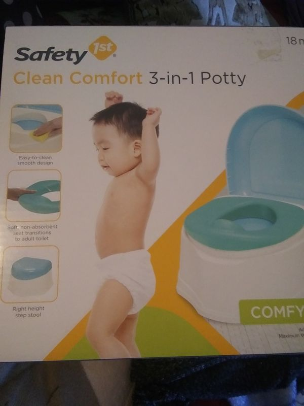 Clean & Comfort Potty Safety 1st New for Sale in Compton, CA - OfferUp
