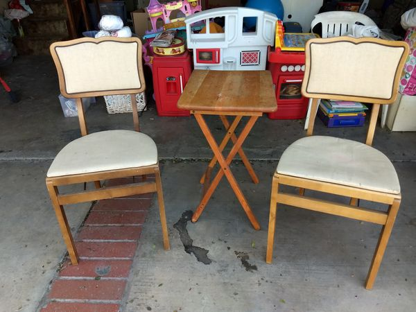 Vintage Stakmore Folding Chairs For Sale In Corona Ca Offerup