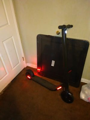 Segway High Performance Portable Electric Scooter with charger.has shocks and tells you how fast you go and how much battery you have wheels never pop for Sale in Los Angeles, CA
