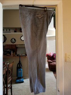 Linen pants, Capri, skinny jean Thumbnail