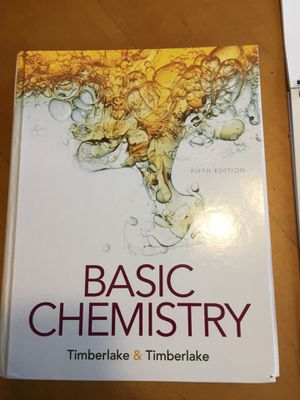 Basic chemistry book, 5th edition for Sale in Mesa, AZ