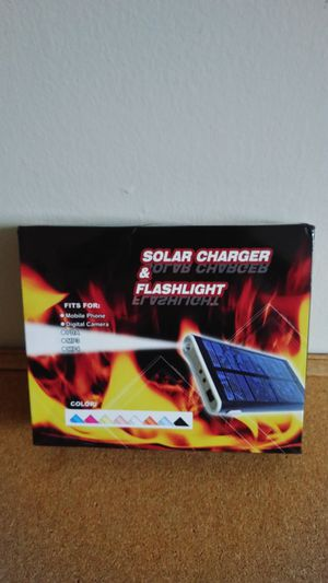 Solar charger for Sale in Gaithersburg, MD