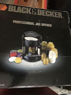 Black&decker profesional jar opener Thumbnail