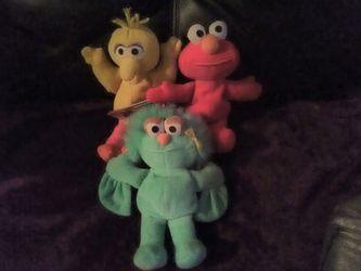 Tyco Beanie Beans From Sesame Street Thumbnail