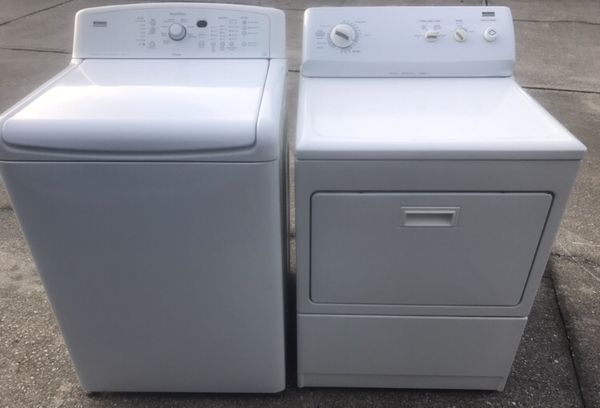 Kenmore Oasis Elite King Capacity Matching Washer Gas Dryer 1 Yr Like New Condition Used In Vacation Home Minimal Use Paid 1198 Roximately 14