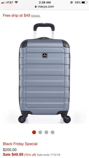 """Tag Matrix 20"""" carry on luggage for Sale in Arlington, VA"""