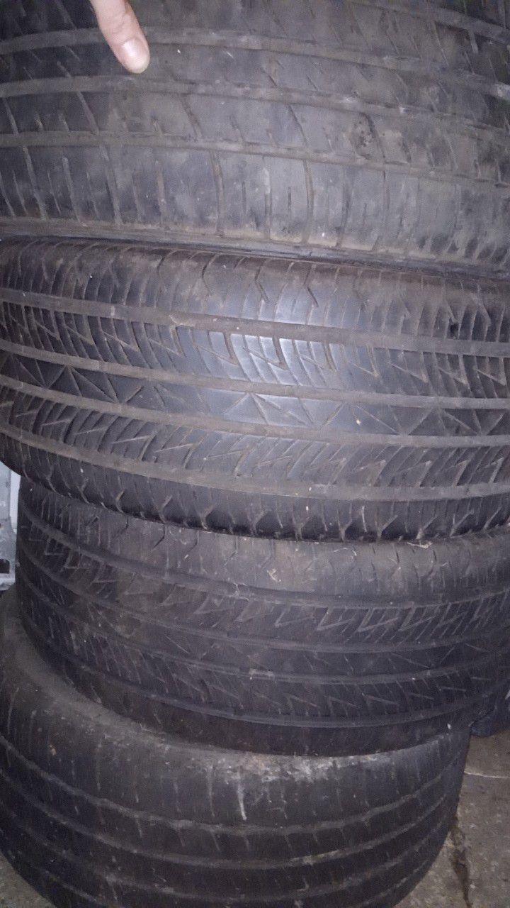 Saab 5 lug 90%tires and rims