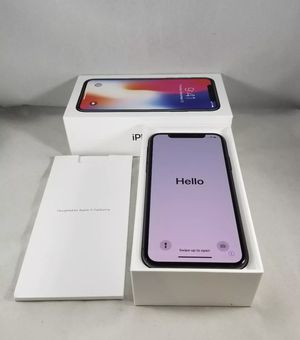iPhone X space gray 256 gb mint condition for Sale in Manassas, VA