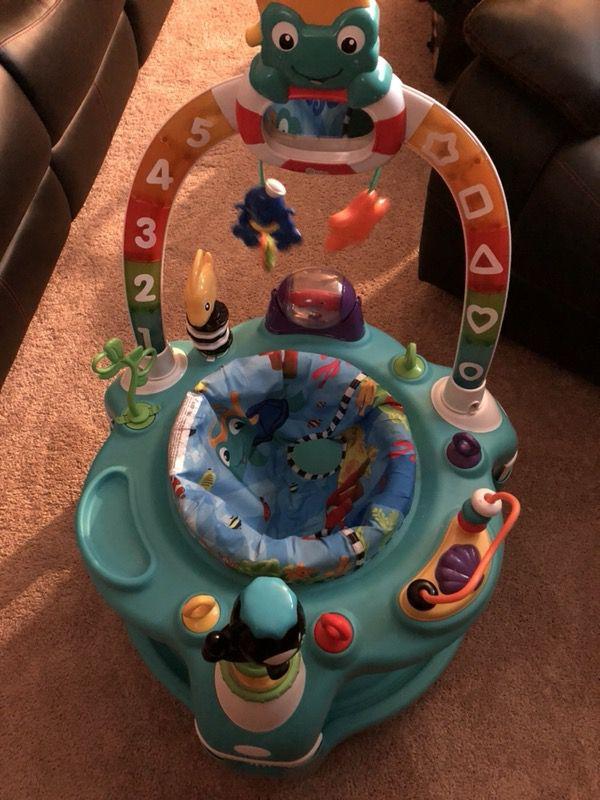 3872337df Baby Einstein 2-in-1 Lights   Sea Activity Center and Saucer for Sale ...