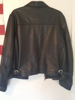 BEAUTIFUL Roundtree & York Leather Jacket Size Med Mens Thumbnail