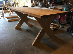 Farmhouse Table W Bench For Sale In Tampa FL OfferUp - Farm table tampa