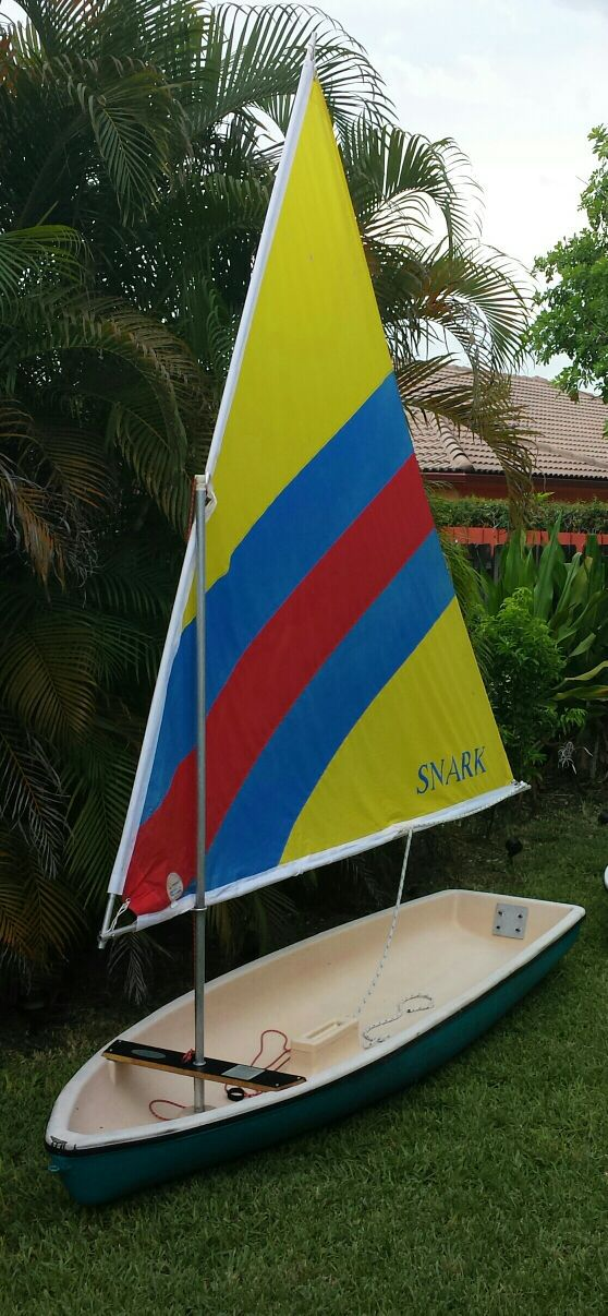Sailing: Super Snark Sail boat for sale  $250 for Sale in Miami, FL -  OfferUp