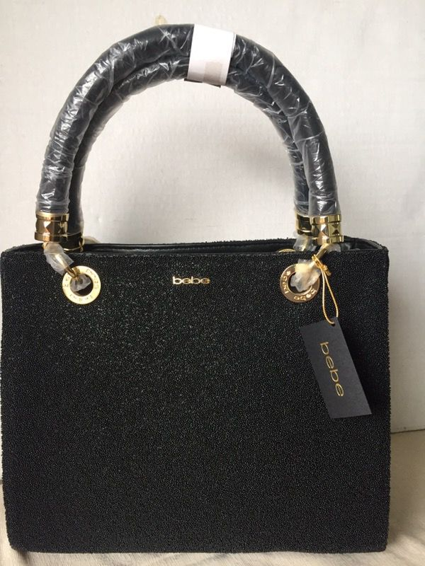 NEW BEBE AUTHENTIC BLACK PURSE (MEDIUM) for Sale in Los Angeles 4ee565a994c4a