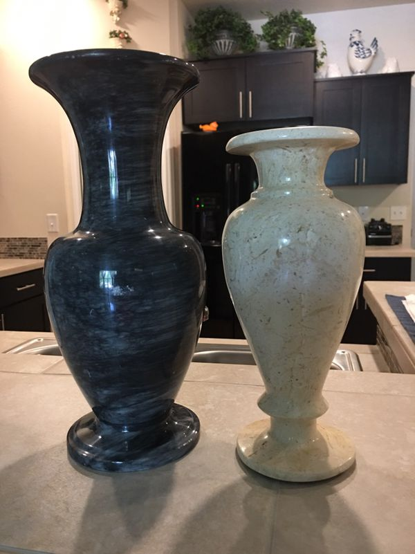 Stunning Solid Marble Vases Household In Clackamas Or Offerup