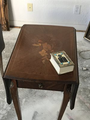 1 Drawer Duel Set Of Antique Side Tables That Expand For In Parkland Fl