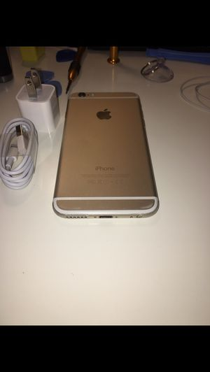 💎Unlocked to any carrier💎 Gold iphone 6 16GB for Sale in Washington, DC