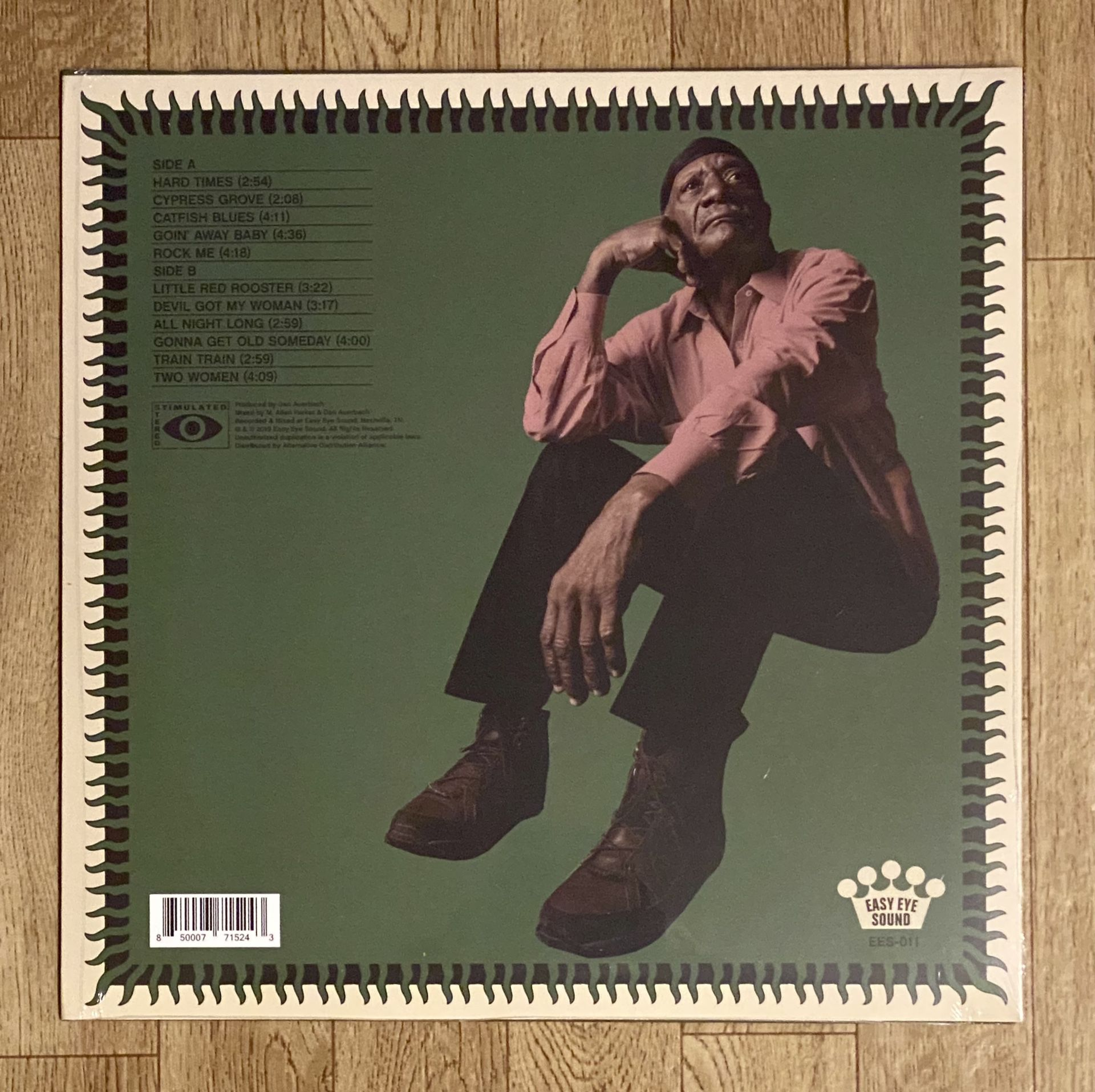 Jimmy Duck Holmes Vinyl Record - Please Observe All Pictures - New Sealed