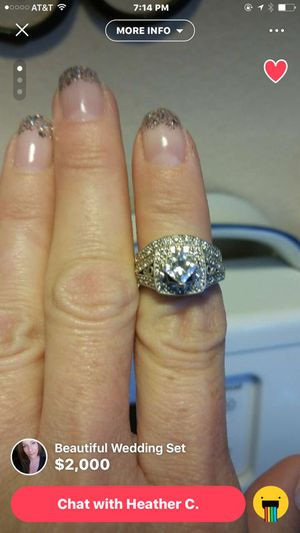 Wedding Ring .80 Caret w/ paperwork for Sale in Denver, CO