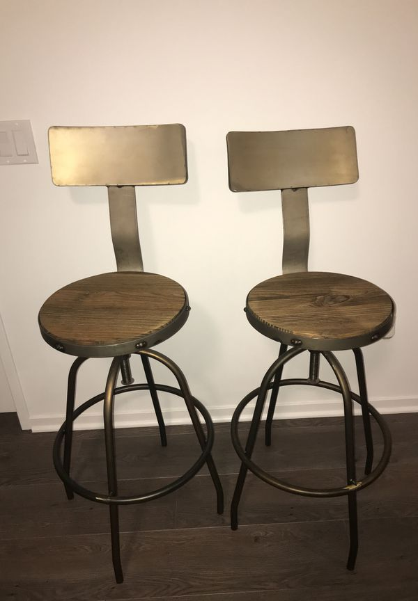 Like New 2 Kirklands Kitchen Bar Stools For Sale In Chicago Il Offerup
