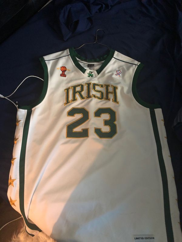 sale retailer 570d6 ebd3f LeBron James Authentic high school jersey XXL for Sale in Riverdale, GA -  OfferUp
