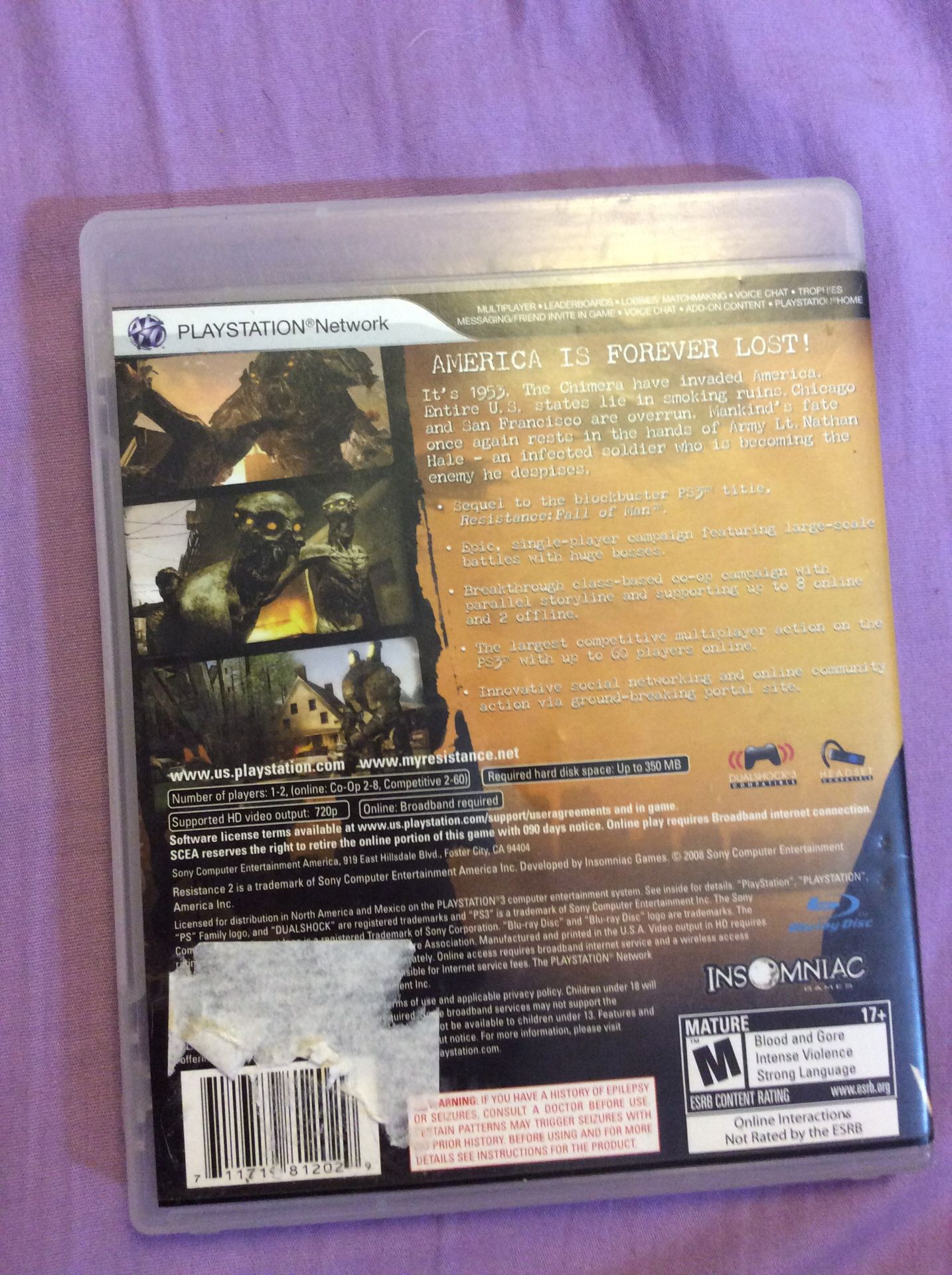 Ps3 game10.00$