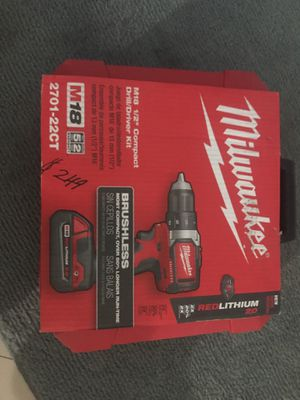 2701-22CT COMPACT DRILL/Driver Kit for Sale in Orlando, FL